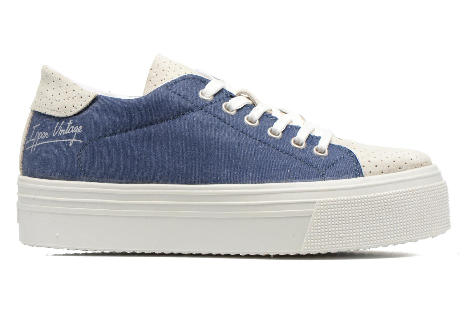 Trainers Ippon Vintage Tokyo jeans Blue back view