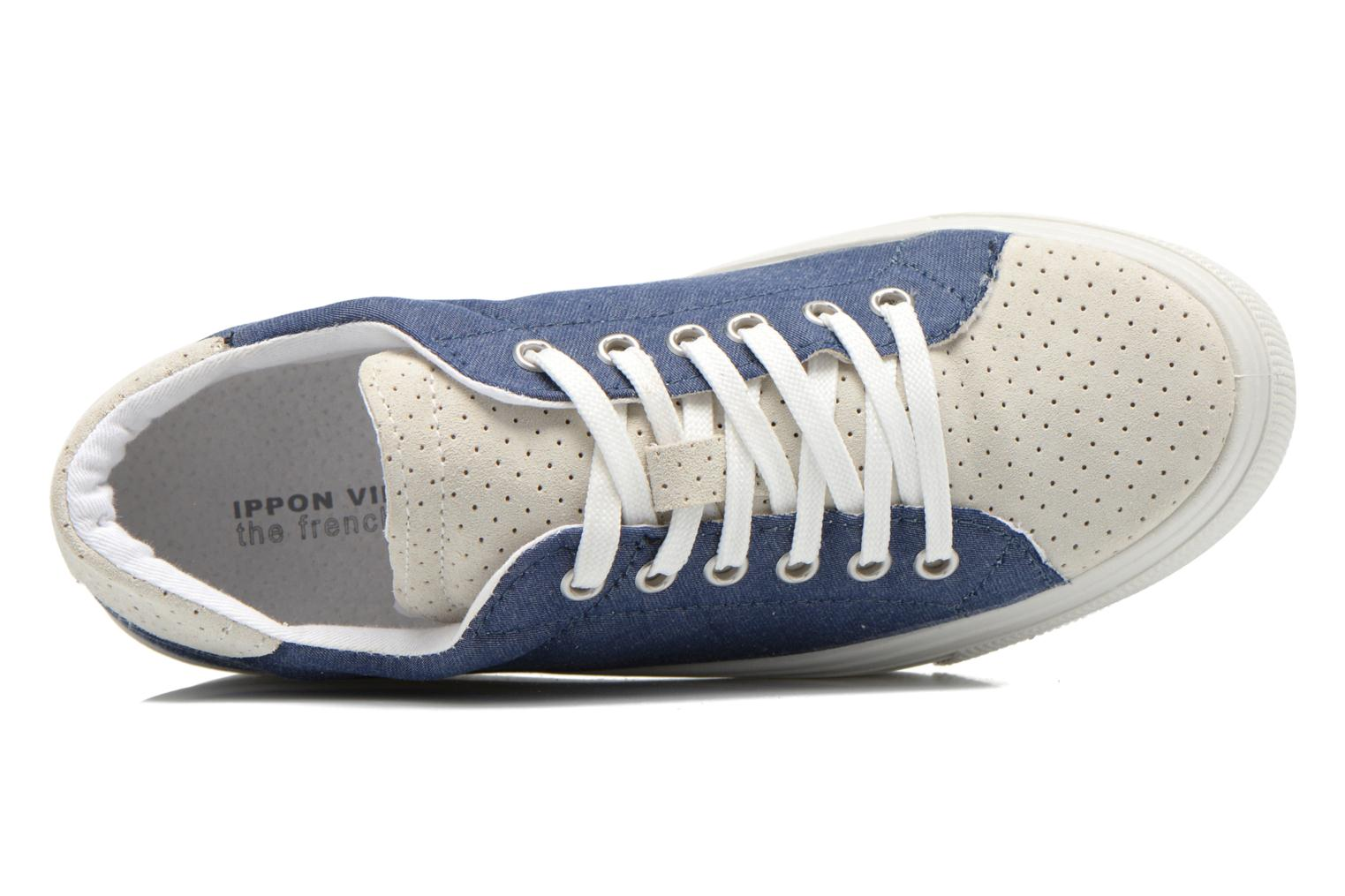 Trainers Ippon Vintage Tokyo jeans Blue view from the left