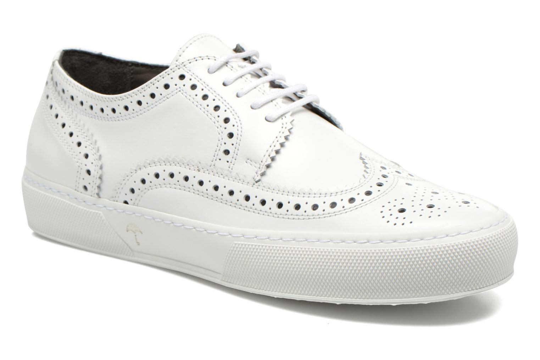 Chaussures à lacets Clergerie Tolka02 Blanc vue 3/4