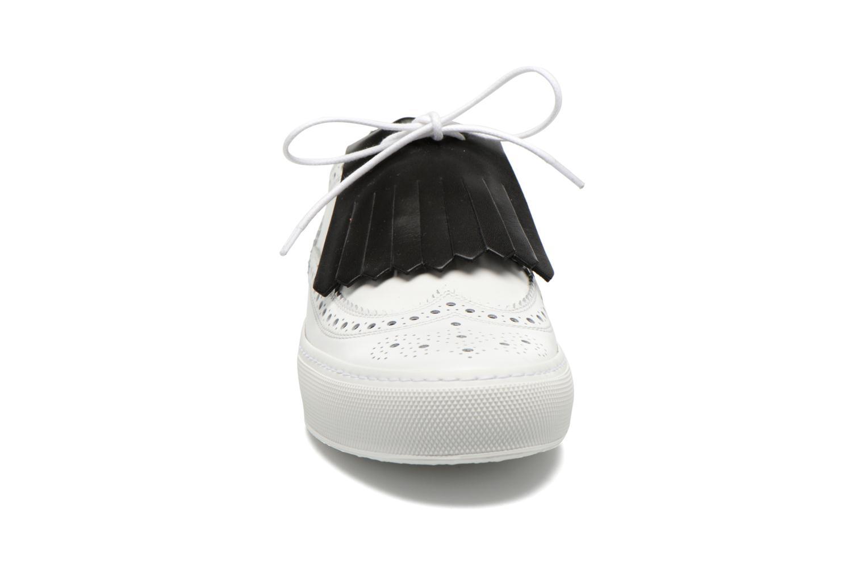 Chaussures à lacets Clergerie Tolka02 Blanc vue portées chaussures