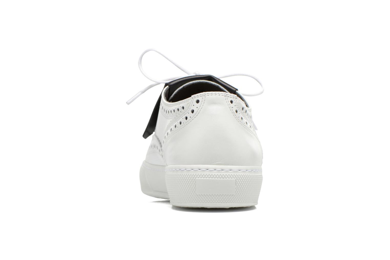 Chaussures à lacets Clergerie Tolka02 Blanc vue droite