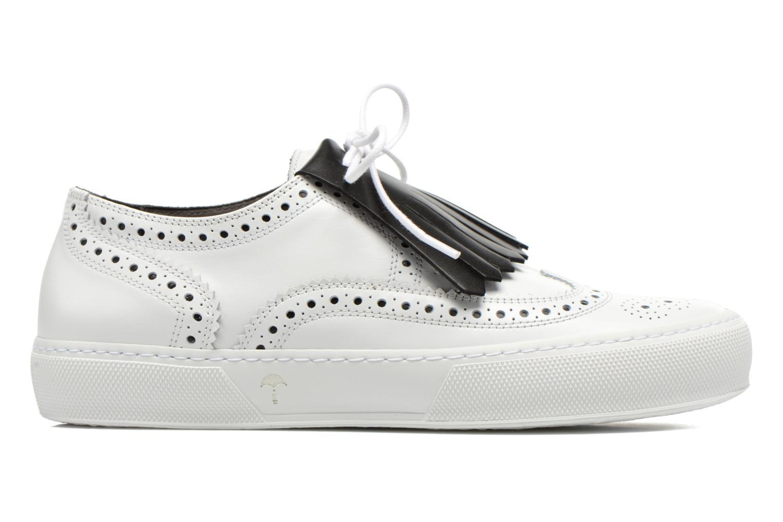 Chaussures à lacets Clergerie Tolka02 Blanc vue derrière