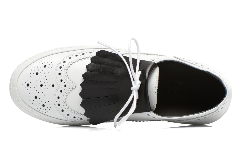 Chaussures à lacets Clergerie Tolka02 Blanc vue gauche