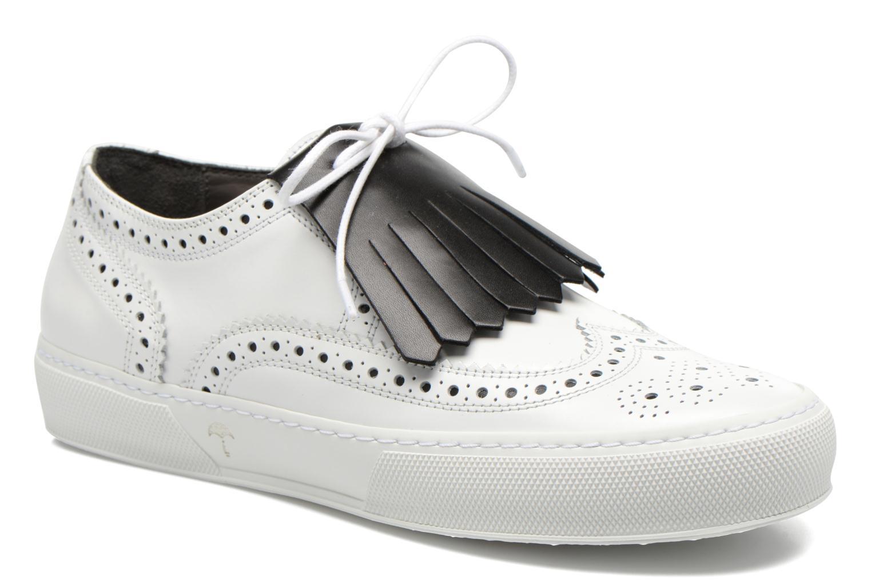 Chaussures à lacets Clergerie Tolka02 Blanc vue détail/paire