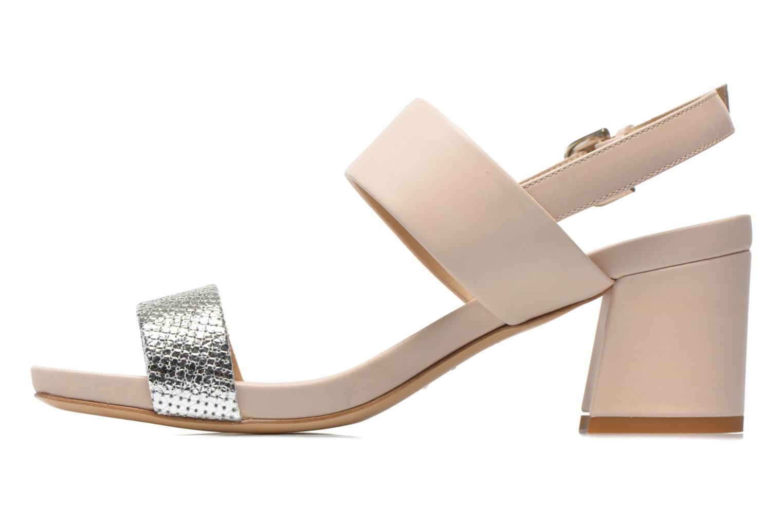 Sandales et nu-pieds Vicini Léine Beige vue face