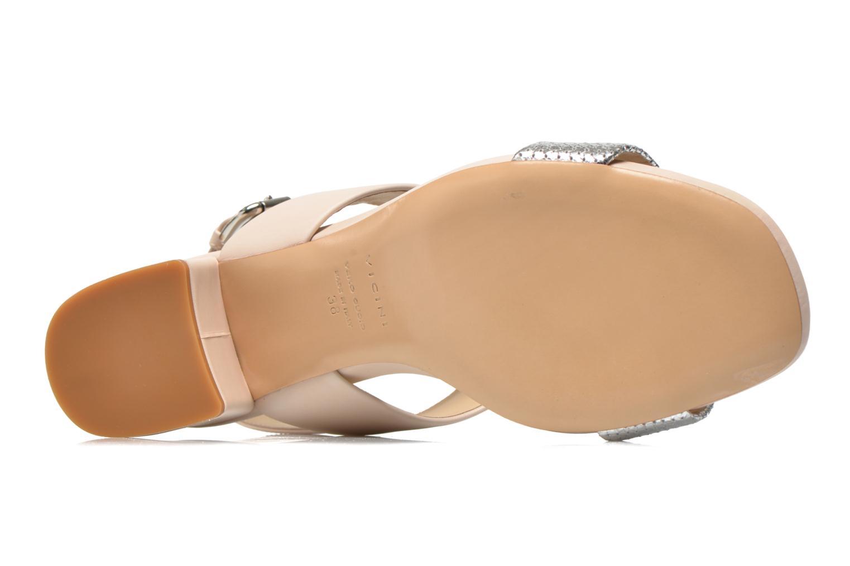 Sandales et nu-pieds Vicini Léine Beige vue haut