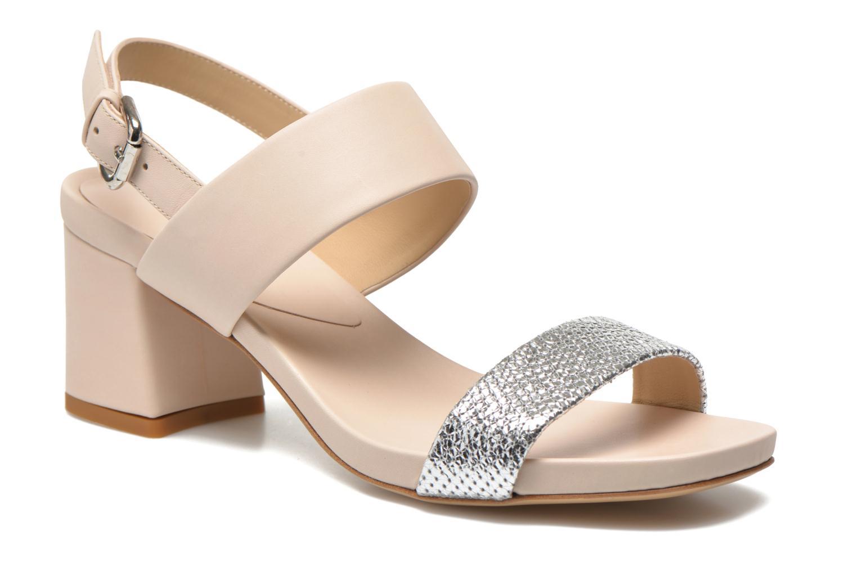 Sandales et nu-pieds Vicini Léine Beige vue détail/paire
