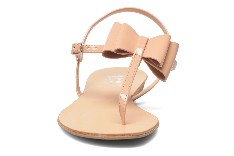 Sandales et nu-pieds I Love Shoes Donoeud Beige vue portées chaussures