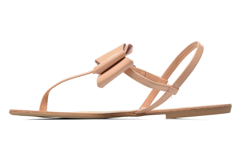 Sandales et nu-pieds I Love Shoes Donoeud Beige vue face