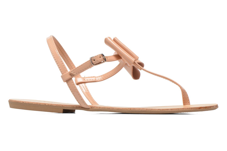 Sandales et nu-pieds I Love Shoes Donoeud Beige vue derrière