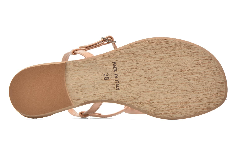 Sandales et nu-pieds I Love Shoes Donoeud Beige vue haut