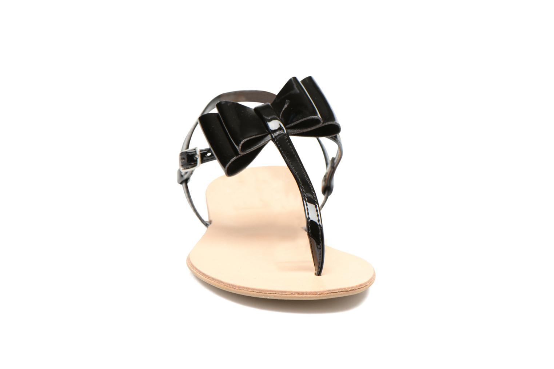 Sandales et nu-pieds I Love Shoes Donoeud Noir vue portées chaussures