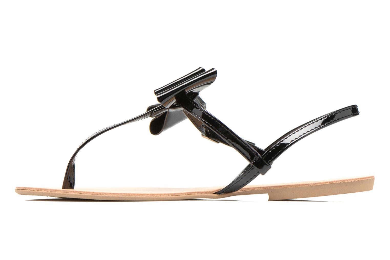 Sandales et nu-pieds I Love Shoes Donoeud Noir vue face