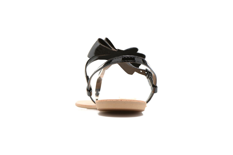 Sandales et nu-pieds I Love Shoes Donoeud Noir vue droite