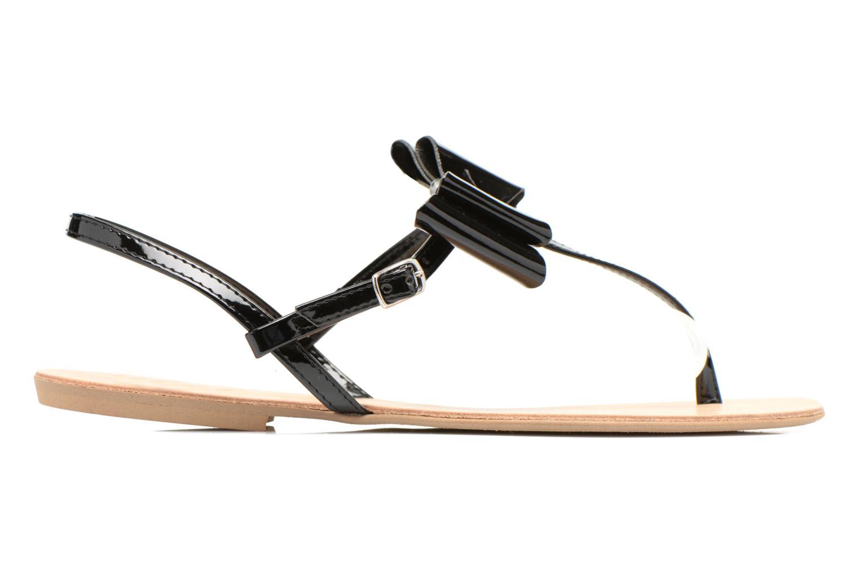 Sandales et nu-pieds I Love Shoes Donoeud Noir vue derrière