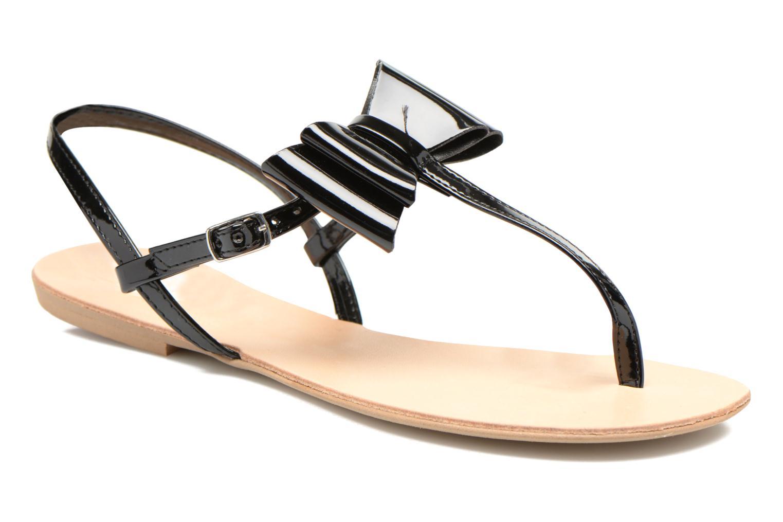 Sandales et nu-pieds I Love Shoes Donoeud Noir vue détail/paire