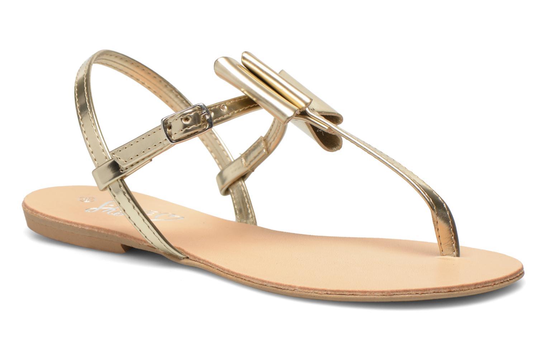 Sandales et nu-pieds I Love Shoes Donoeudou Or et bronze vue détail/paire