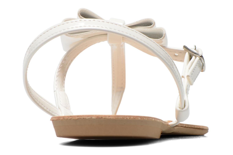 Sandales et nu-pieds I Love Shoes Donoeudou Blanc vue droite