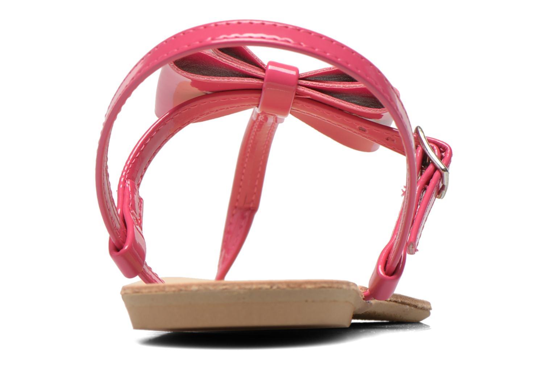 Sandales et nu-pieds I Love Shoes Donoeudou Rose vue droite