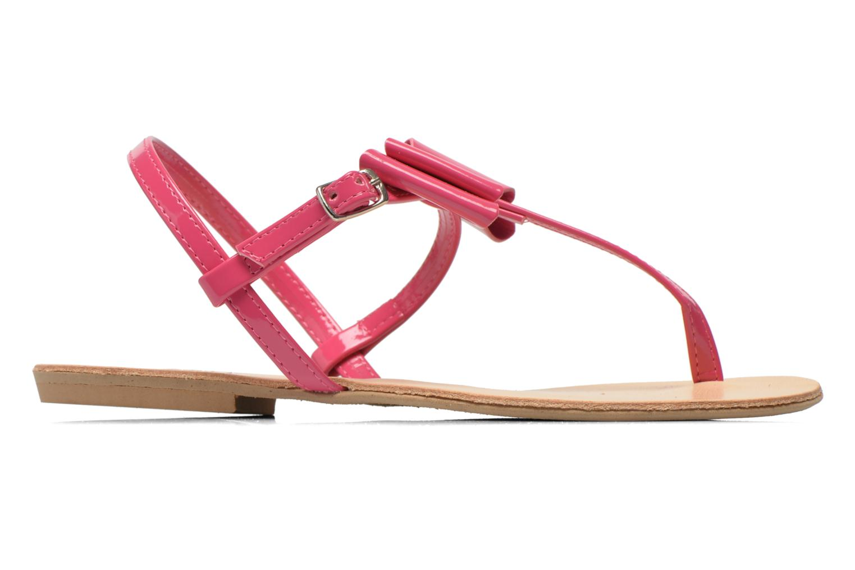 Sandales et nu-pieds I Love Shoes Donoeudou Rose vue derrière