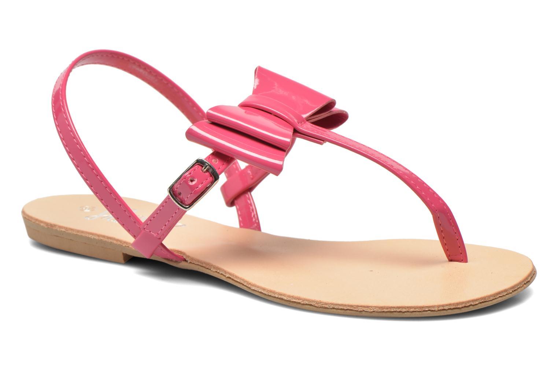 Sandales et nu-pieds I Love Shoes Donoeudou Rose vue détail/paire