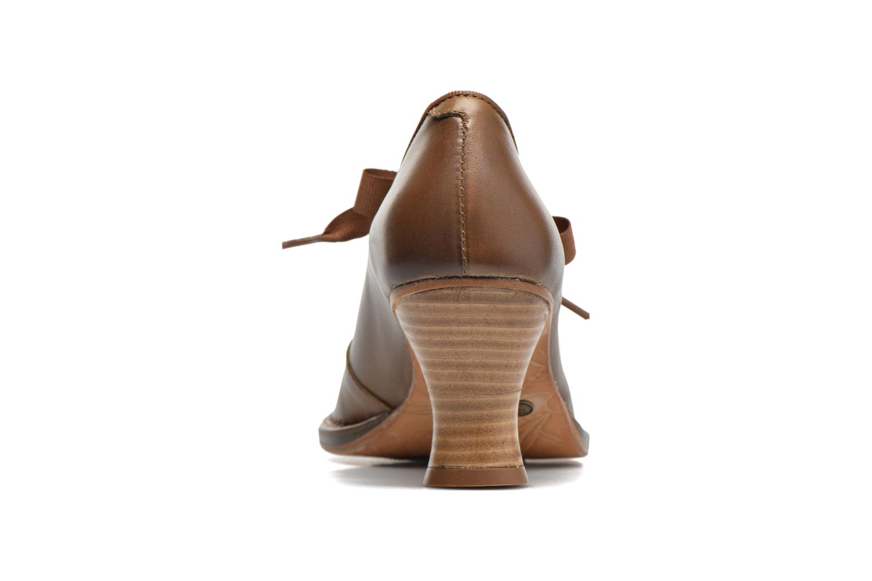 Zapatos de tacón Neosens Rococo S859 Marrón vista lateral derecha