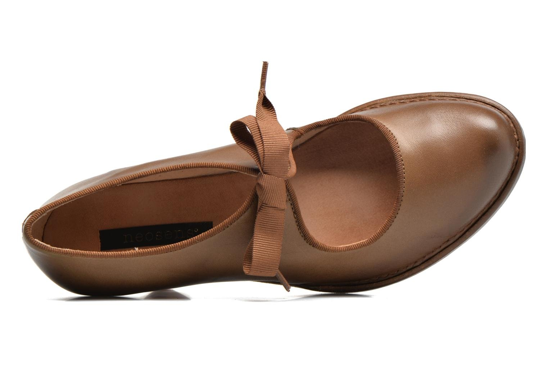 Zapatos de tacón Neosens Rococo S859 Marrón vista lateral izquierda