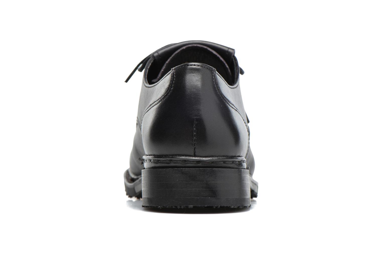Zapatos con cordones Neosens Hondarribi S895 Marrón vista lateral derecha