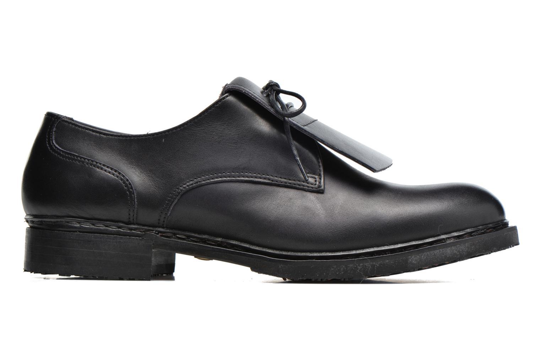 Zapatos con cordones Neosens Hondarribi S895 Marrón vistra trasera
