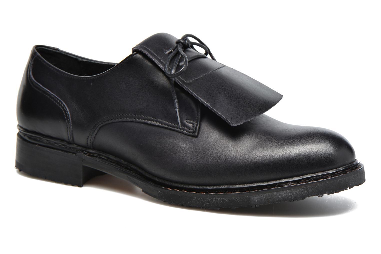 Zapatos con cordones Neosens Hondarribi S895 Marrón vista de detalle / par