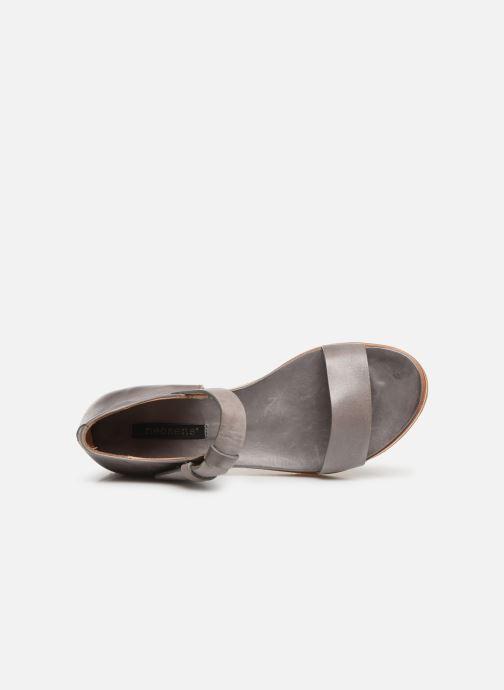Sandalen Neosens Cortese S502 grau ansicht von links