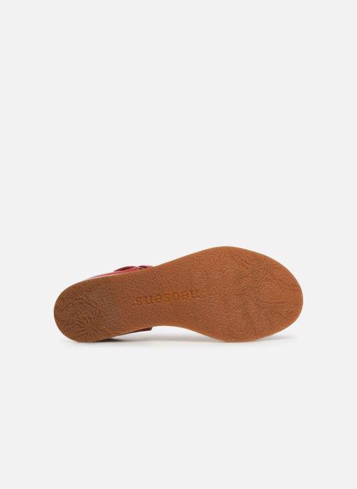Sandales et nu-pieds Neosens Cortese S502 Rouge vue haut