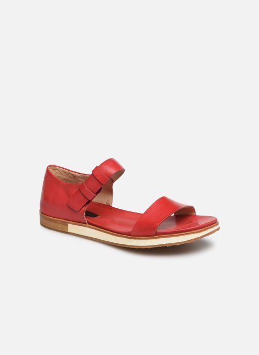 Sandals Neosens Cortese S502 Red detailed view/ Pair view
