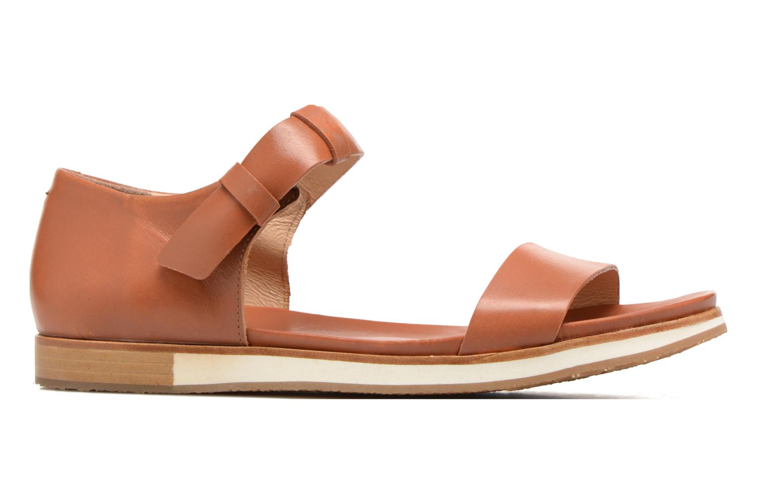 Sandals Neosens Cortese S502 Brown back view