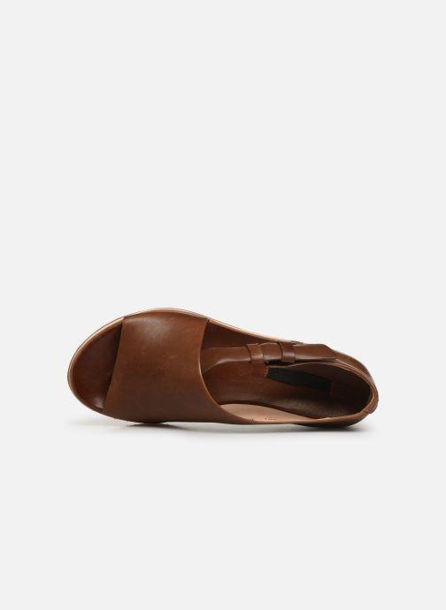 Sandales et nu-pieds Neosens Cortese S501 Marron vue gauche