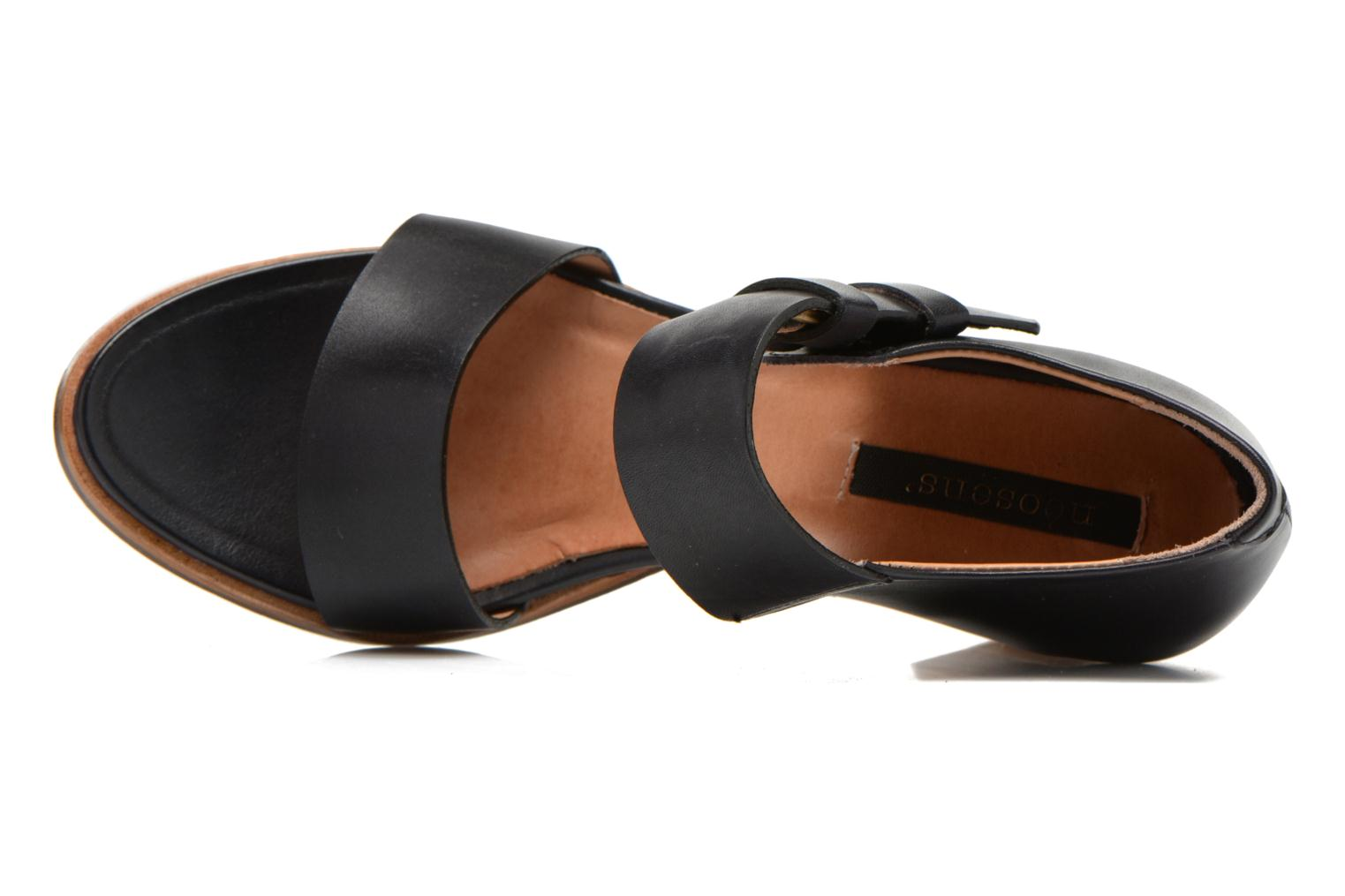 Sandals Neosens Gloria S198 Black view from the left