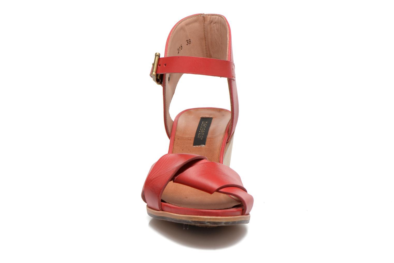 Sandales et nu-pieds Neosens Noah S216 Rouge vue portées chaussures