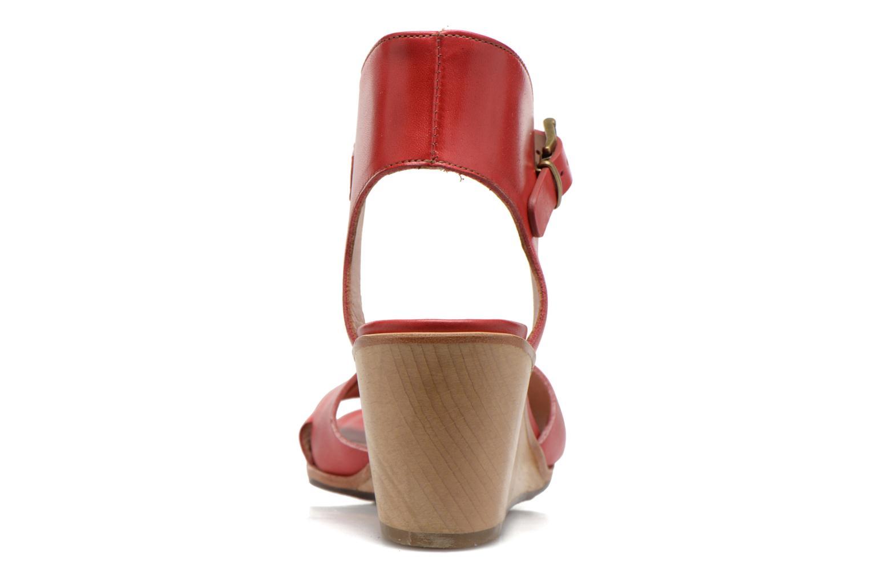 Sandales et nu-pieds Neosens Noah S216 Rouge vue droite