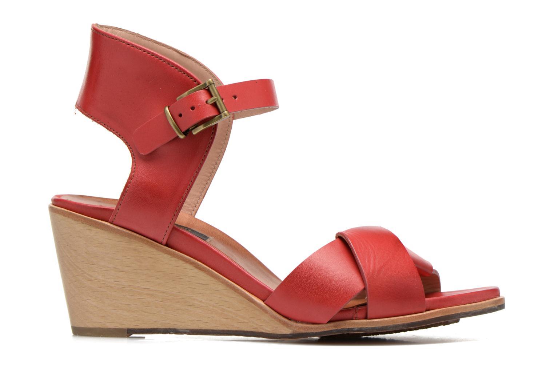 Sandales et nu-pieds Neosens Noah S216 Rouge vue derrière
