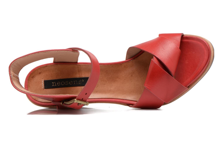 Sandales et nu-pieds Neosens Noah S216 Rouge vue gauche
