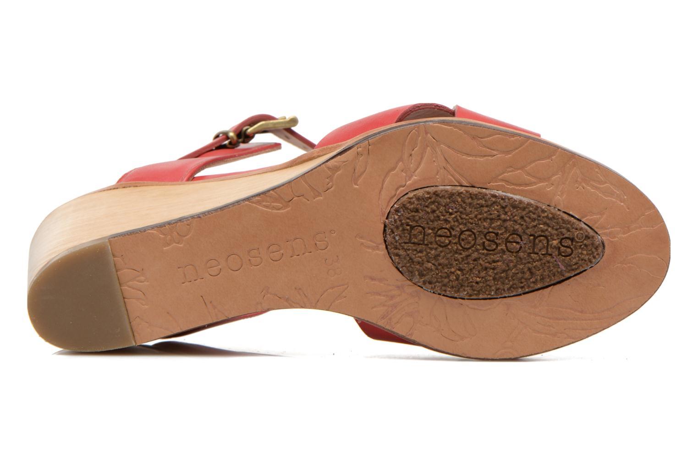 Sandales et nu-pieds Neosens Noah S216 Rouge vue haut