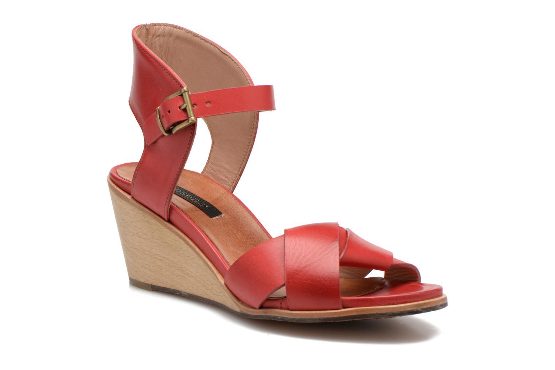 Sandales et nu-pieds Neosens Noah S216 Rouge vue détail/paire