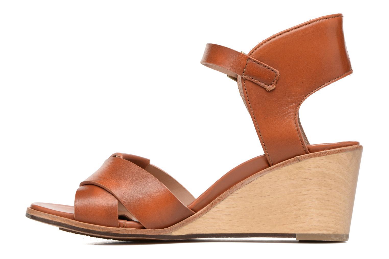 Sandales et nu-pieds Neosens Noah S216 Marron vue face