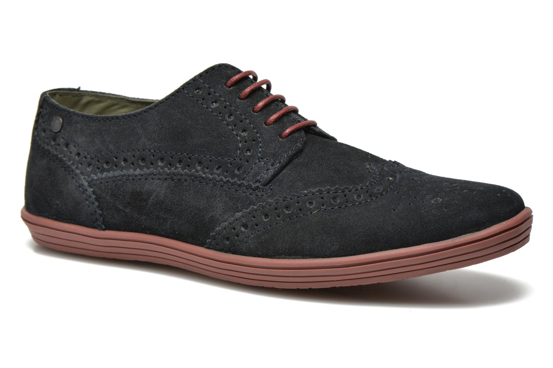 Snøresko Base London Gig Perform Blå detaljeret billede af skoene