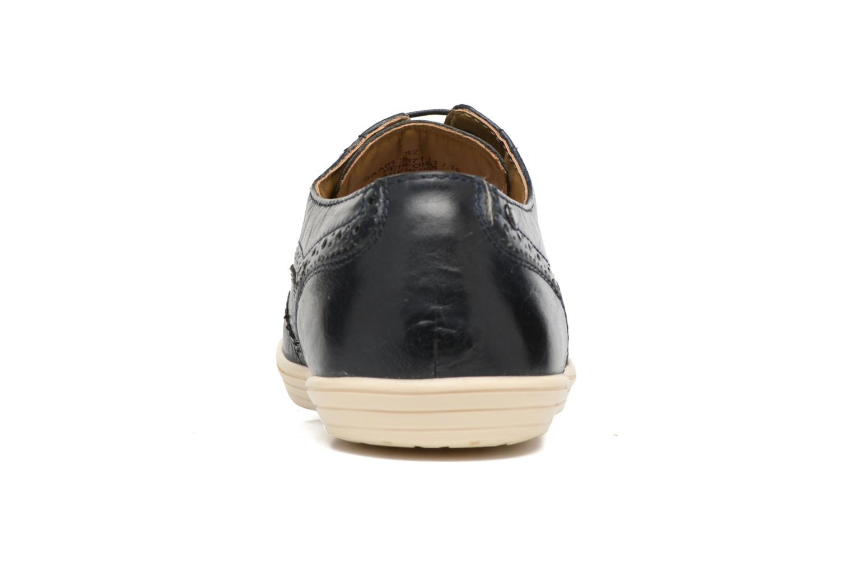 Chaussures à lacets Base London Gig Perform Bleu vue droite