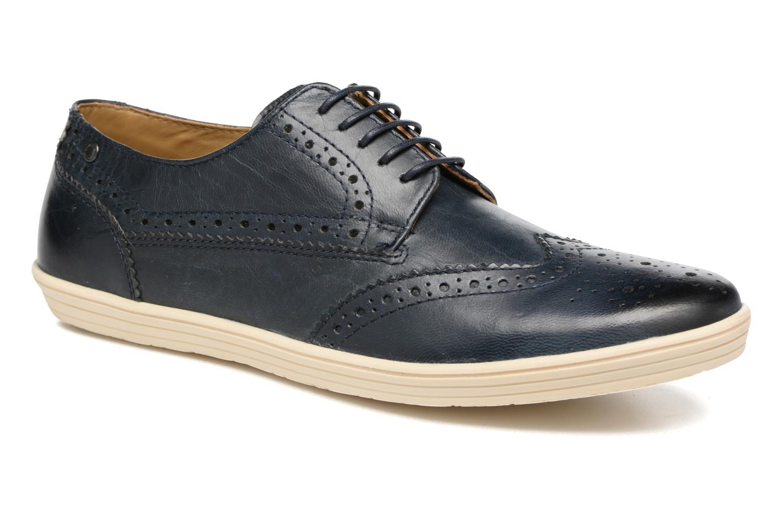Chaussures à lacets Base London Gig Perform Bleu vue détail/paire