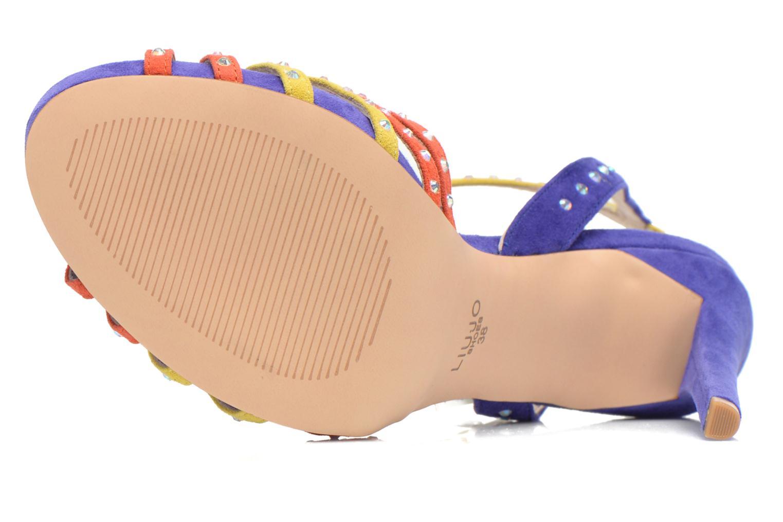 Sandales et nu-pieds Liu Jo Sandale Clio haute Multicolore vue haut