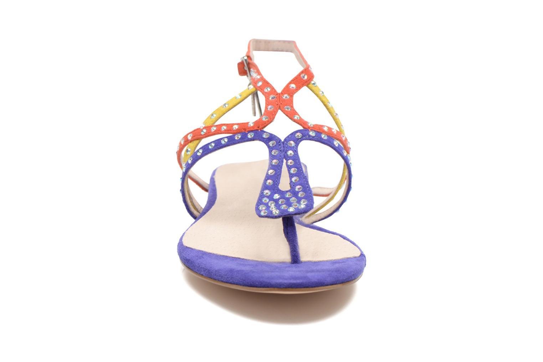 Sandales et nu-pieds Liu Jo Sandale Clio plate Multicolore vue portées chaussures