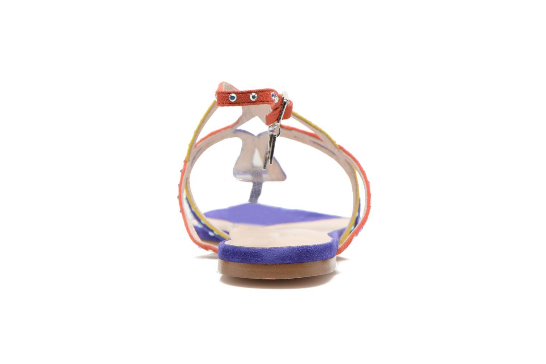 Sandales et nu-pieds Liu Jo Sandale Clio plate Multicolore vue droite