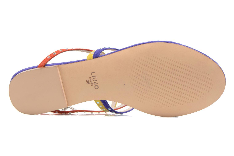 Sandales et nu-pieds Liu Jo Sandale Clio plate Multicolore vue haut